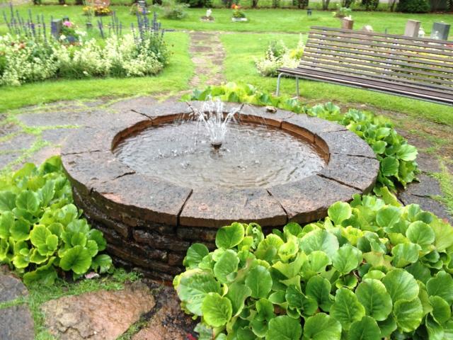 S:t Eskils Kyrkogård, fontän 2
